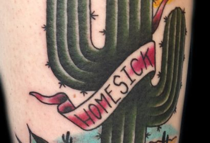 homesick cactus tattoo
