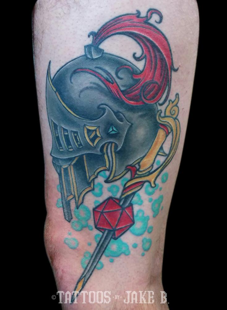 Medieval Warrior Tattoo Designs