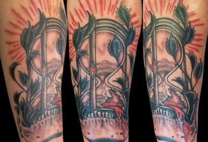 hourglass tattoo featured