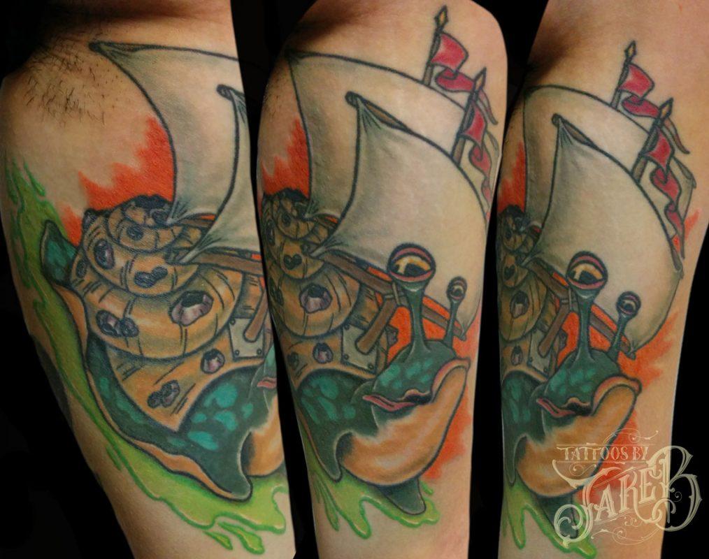 snail-sails