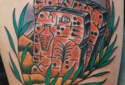 Sumarian beer tablets tattoo