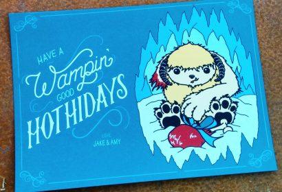 wampin hothidays cards