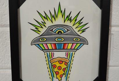 Pizza UFO