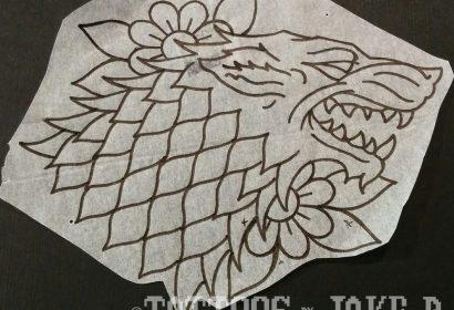 stark crest tattoo