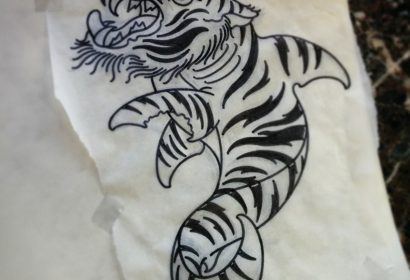tiger shark tattoo
