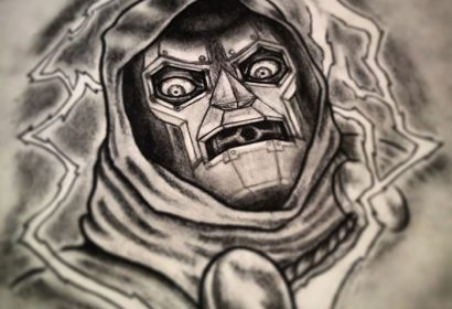 dr doom tattoo
