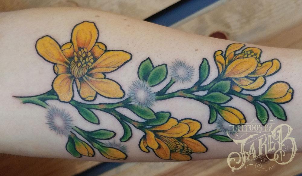 creosote tattoo