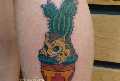pokemon sandshrew Tattoo