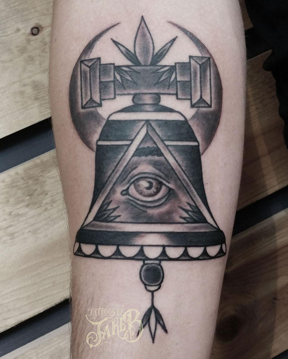 bell tattoo