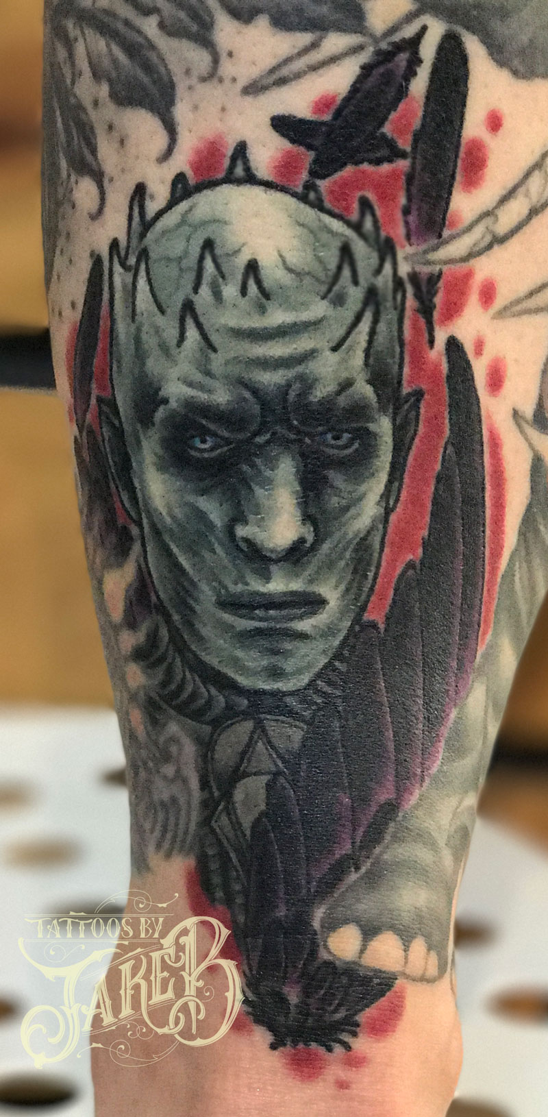 game of thrones knight king tattoo
