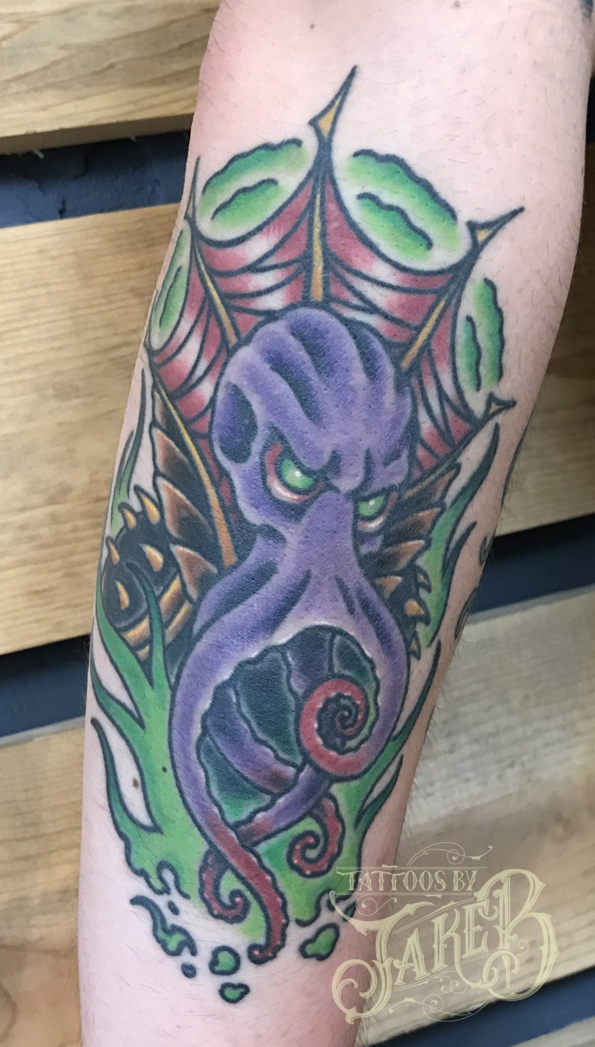 dungeons and dragons mind flayer tattoo