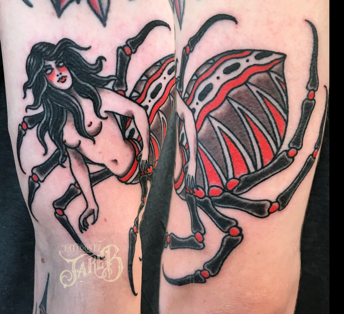 spider lady tattoo